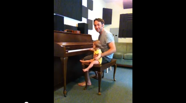 Playing Piano with Eli (YouTube)