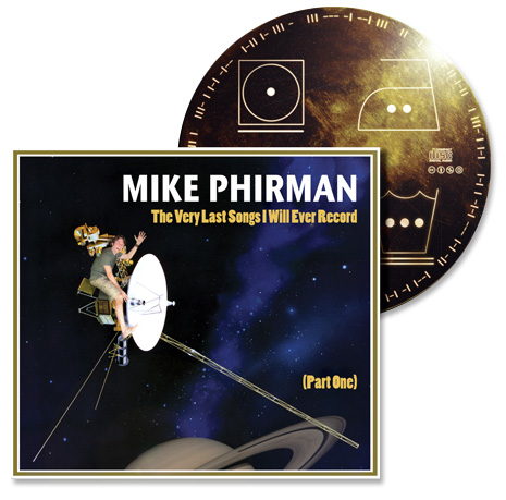 CD Cover with Golden Disc