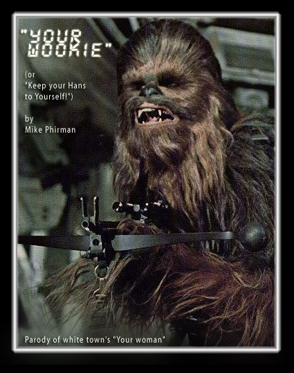 Chewbacca with a friggin' crossbow